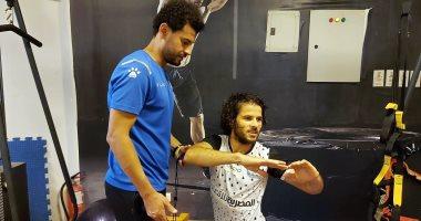المصرى يجهز محمد جابر للجولة الأخيرة بالدورى بعد إصابة الضامة