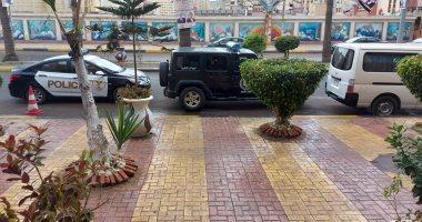 هطول أمطار خفيفة ومتوسطة شرق الإسكندرية.. فيديو وصور