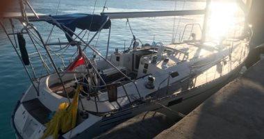 القوات البحرية المصرية تنقذ مركبا يرفع العلم التركى فى عمق البحر المتوسط