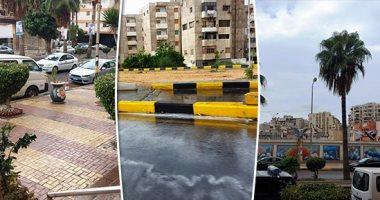 الأرصاد تتوقع سقوط أمطار رعدية تصل للسيول بسيناء وخفيفة بالقاهرة غدا
