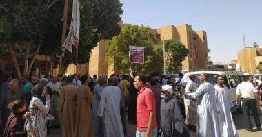 الطوابير تمتد أمام لجان انتخابات النواب فى الأقصر.. صور