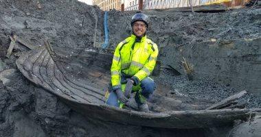 اكتشاف بقايا سفن غارقة منذ مئات السنين فى يوتبورى بالسويد.. صور