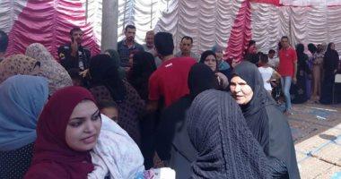مدارس كرداسة تتزين بالأعلام وإقبال كبير بأول أيام التصويت في انتخابات النواب