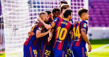 """صورة برشلونة يواجه فرينكفاروسي فى مباراة """"تحصيل حاصل"""" بدوري أبطال أوروبا"""