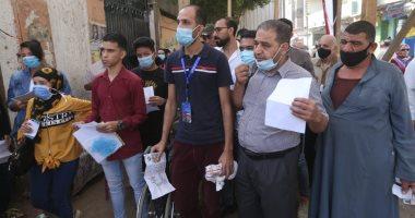 انتظام الخدمات الأمنية بمحيط لجان انتخابات النواب مع بدء التصويت