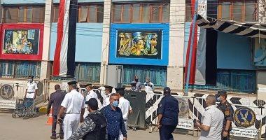 انتشار شرطى بمحيط لجان الاقتراع فى ثان أيام الانتخابات
