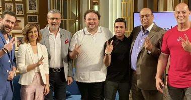 """نضال الشافعى:""""زنزانة 7"""" شخصياته مختلفة وقلت لـ أحمد زاهر لازم نقف جنب بعض"""