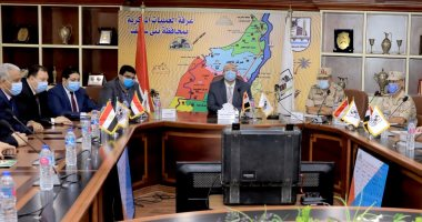 محافظ بنى سويف يعلن عدم تلقى أى شكاوى وانتظام التصويت داخل 692 لجنة فرعية