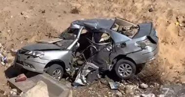 التصريح بدفن جثة المنتج محمود الفولى واثنين آخرين لقوا مصرعهم فى حادث سيارة
