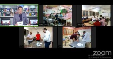 تليفزيون اليوم السابع يرصد علمية فرز أصوات الناخبين فى لجان الانتخابات