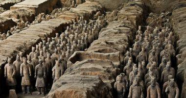 100 منحوتة عالمية..  جيش الطين فى الصين استعدادا للحياة الآخرة
