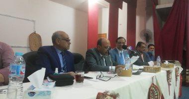 اللجنة العامة لدائرة الخارجة بالوادى الجديد تعلن تقدم أحمد عبد الله بـ6081 صوتاً.. فيديو