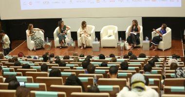 بالصور نساء رائدات فى ندوة تمكين المرأة بمهرجان الجونة السينمائي