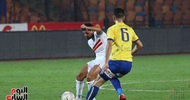 مصطفى محمد يتقدم للزمالك فى مرمى الإسماعيلي بالدقيقة 11