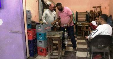 محافظ الشرقية يأمر بغلق وتشميع ورشتين لتصليح السيارات ومقهيين مخالفين