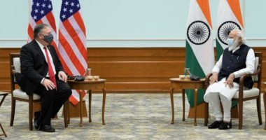 بومبيو يلتقى رئيس وزراء الهند: علاقتنا المتجذرة فى الديمقراطية مفيدة للعالم