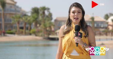 الإعلامية شيريهان أبو الحسن تحكى قصة السجادة الحمراء بمهرجان الجونة السينمائى