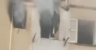 السيطرة على حريق فى وحدة سكنية بالعاشر من رمضان