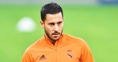 """هازارد يدعى الإصابة فى تدريبات ريال مدريد الأخيرة قبل مواجهة مونشنجلادباخ """"فيديو"""""""
