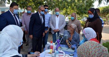 محافظ القليوبية يتفقد مستعمرة الجزام ومستشفى الأمراض النفسية بمدينة الخانكة