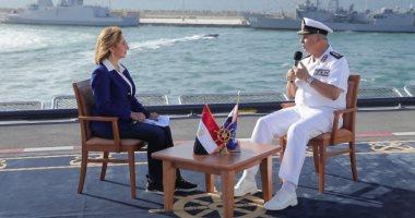 """قائد القوات البحرية يكشف سر مصطلح """"التحرش البحرى"""" بين السفن"""