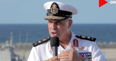 قائد القوات البحرية: نؤمن مناطقنا وثرواتنا الاقتصادية أمام كافة المخاطر