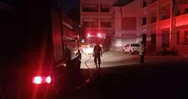 السيطرة على حريق بتشوينات أعلى مسجد مدرسة بالقليوبية