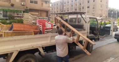 رفع 207 حالة إشغال مخالفة بمركز ومدينة دمنهور بالبحيرة
