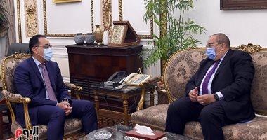 رئيس الوزراء يلتقى محمود محيى الدين المدير التنفيذي بصندوق النقد الدولى