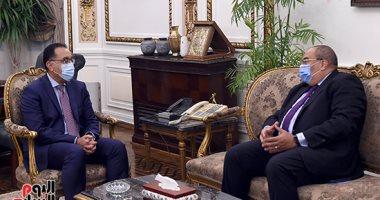 رئيس الوزراء يلتقى محمود محيى الدين المدير التنفيذى بصندوق النقد الدولى