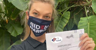 كارلى كلوس زوجة شقيق صهر ترامب تنتخب جو بايدن رئيسا لأمريكا.. صور