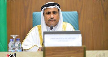 """""""العسومى"""" يؤكد موقف البرلمان العربى الداعم لمصر فى مفاوضات سد النهضة"""