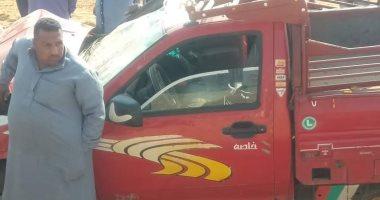 مصرع عامل وإصابة 4 آخرين فى حادث انقلاب سيارة بالشرقية