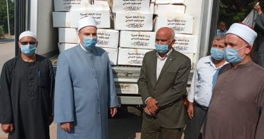 توزيع 61 طن لحوم صكوك أضاحى على الأسر الأكثر احتياجا بالجيزة