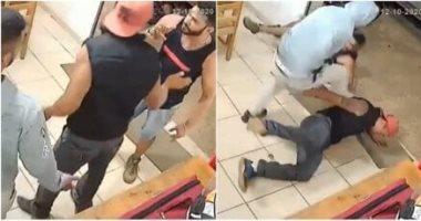 مشاجرة فى مطعم برازيلى.. حقيقة فيديو تصدى شاب مصرى لمحاولة اعتداء بالكويت