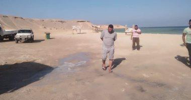 محميات البحر الأحمر تشن حملات على الشواطئ للحفاظ على الحياة البحرية.. صور