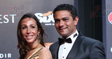 """آسر ياسين يشكر وزارة الصحة: """"عاملة دور هايل فى مهرجان الجونة"""""""