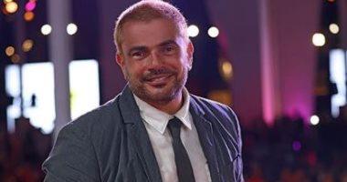 """عمرو دياب يشارك بصور حفل ختام مهرجان الجونة .. ونور تعلق: """"والدى الأسطورة"""""""