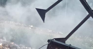شكوى من انتشار القمامة بقرية منية سندوب المنصورة.. والمحافظة ترد: جارى رفعها
