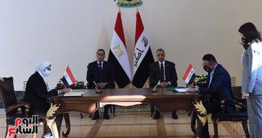 توقيع 15 اتفاقية ومذكرة تفاهم وبروتوكول تعاون بين مصر والعراق..اعرف التفاصيل