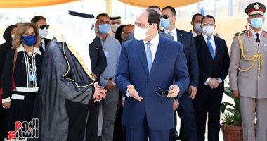 السيسى: تكلفة المشروعات فى سيناء خلال 6 سنوات تقارب 700 مليار جنيه
