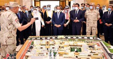 بدء احتفال افتتاح جامعة الملك سلمان فى شرم الشيخ بحضور الرئيس السيسى