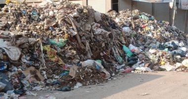 شكوى من انتشار القمامة فى الشارع الجديد ببهتيم.. المحافظ يستجيب