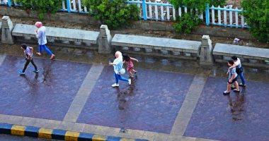 الأرصاد تتوقع سقوط أمطار بالسواحل الشمالية غدا والصغرى بالقاهرة 14 درجة