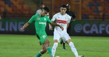 ملخض وأهداف مباراة الزمالك والرجاء المغربي فى دورى أبطال أفريقيا