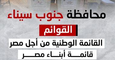 14 مرشحا يتنافسون على 4 مقاعد بانتخابات النواب بجنوب سيناء.. إنفوجراف