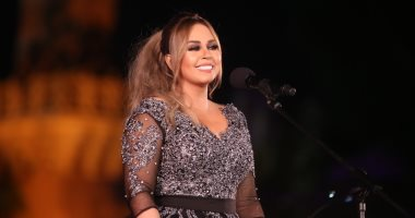سوما تتألق بأجمل أغانيها فى حفل مهرجان الموسيقى العربية