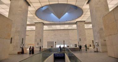 رئيسة البنك الأوروبى تزور متحف الحضارة وقاعة المومياوات الملكية.. صور