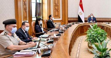 الرئيس السيسى يوجه بدعم المجتمع السيناوى فى اجتماعه بمدبولى والمشاط