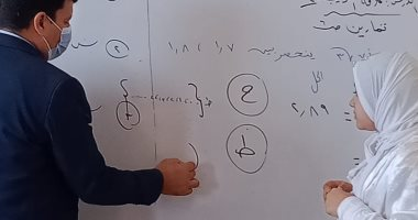 """""""تعليم يوسف الصديق"""" بالفيوم يتفقد المدارس للاطمئنان على الإجراءات الاحترازية"""